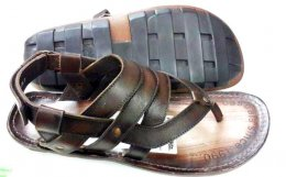 Campus Leather in Pu Bartoli Sole Design Sandals for Mens
