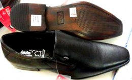 Genuine Sheep Leather with Scented PU Sole: Corporate Formal Slip-On Shoes for Mens