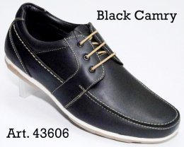 100% Imported Oil Pull-up Leather with Comfort Padding Insocks Casual Lace-up Shoes for Men