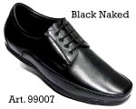 100% Imported Cow Naked Leather with Comfort Padding Lace-up Casual Shoes for Mens